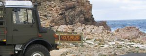 Expedition Unimog at Cape Of Good Hope